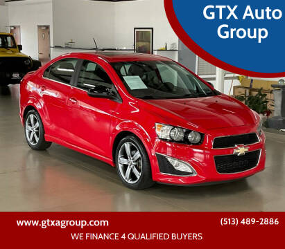 2016 Chevrolet Sonic for sale at GTX Auto Group in West Chester OH