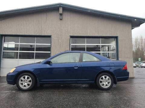 2003 Honda Civic for sale at Westside Motors in Mount Vernon WA
