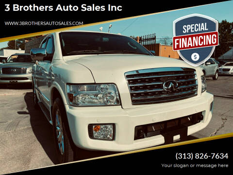 2010 Infiniti QX56 for sale at 3 Brothers Auto Sales Inc in Detroit MI