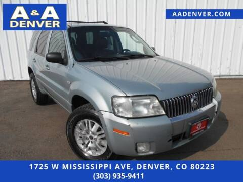 2006 Mercury Mariner for sale at A & A AUTO LLC in Denver CO