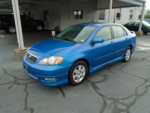 2008 Toyota Corolla for sale at PIEDMONT CUSTOM CONVERSIONS USED CARS in Danville VA