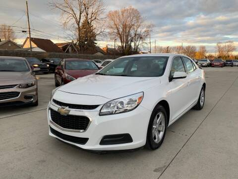 2016 Chevrolet Malibu Limited for sale at Crooza in Dearborn MI