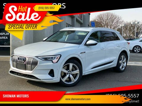 2019 Audi e-tron for sale at SHOMAN MOTORS in Davis CA