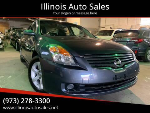 2008 Nissan Altima for sale at Illinois Auto Sales in Paterson NJ