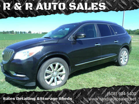 2014 Buick Enclave for sale at R & R AUTO SALES in Juda WI