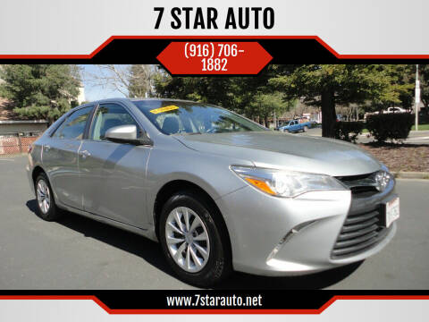 2015 Toyota Camry for sale at 7 STAR AUTO in Sacramento CA