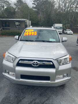 2012 Toyota 4Runner for sale at D & D Auto Sales in Valdosta GA