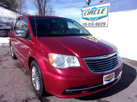 2013 Chrysler Town and Country for sale at Circle Auto Center in Colorado Springs CO