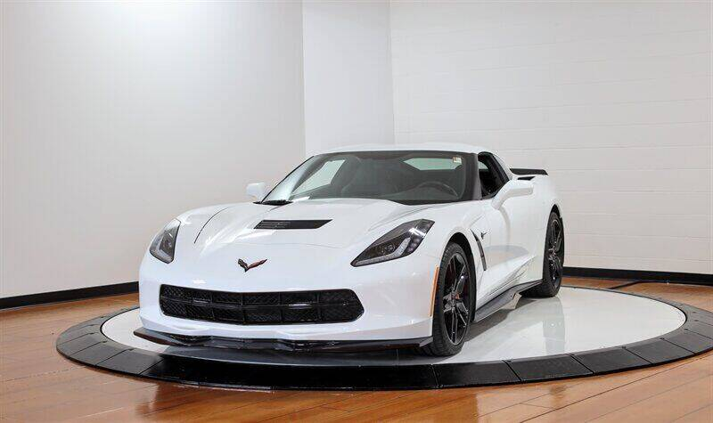 2018 Chevrolet Corvette for sale at Mershon's World Of Cars Inc in Springfield OH