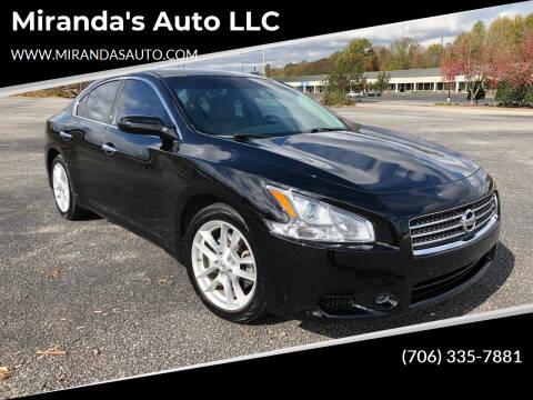 2009 Nissan Maxima for sale at Miranda's Auto LLC in Commerce GA