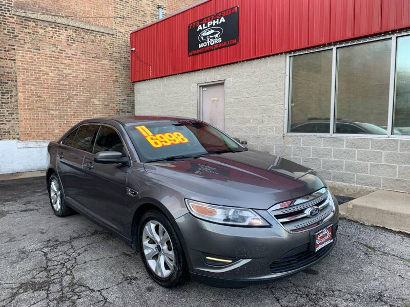2011 Ford Taurus for sale at Alpha Motors in Chicago IL