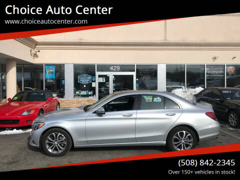 2017 Mercedes-Benz C-Class for sale at Choice Auto Center in Shrewsbury MA