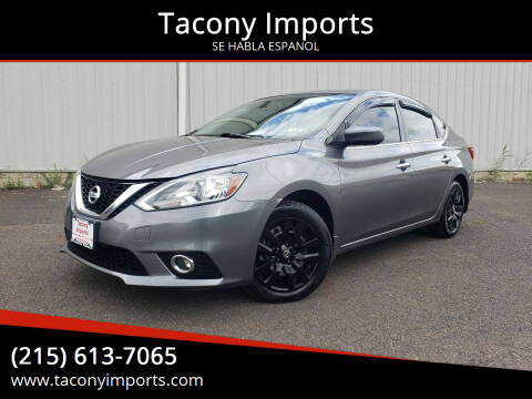 2016 Nissan Sentra for sale at Tacony Imports in Philadelphia PA