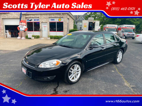 2009 Chevrolet Impala for sale at Scotts Tyler Auto Sales in Wilmington IL