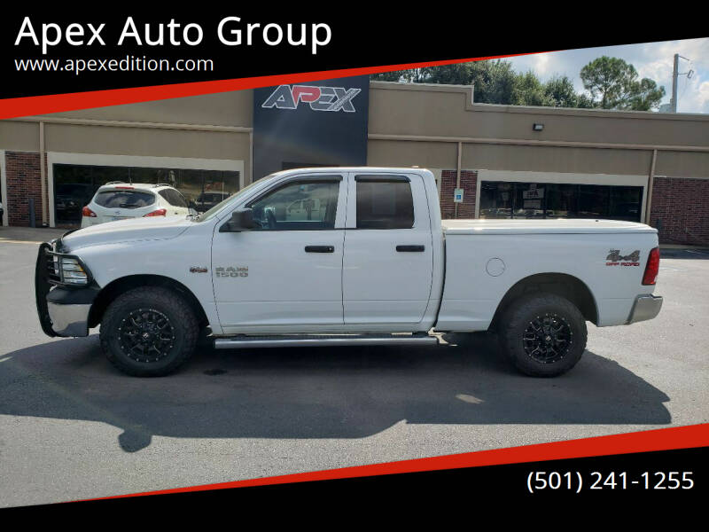 2018 RAM Ram Pickup 1500 for sale at Apex Auto Group in Cabot AR
