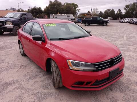 2015 Volkswagen Jetta for sale at Canyon View Auto Sales in Cedar City UT