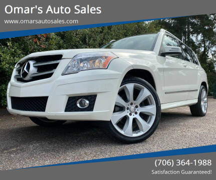 2011 Mercedes-Benz GLK for sale at Omar's Auto Sales in Martinez GA