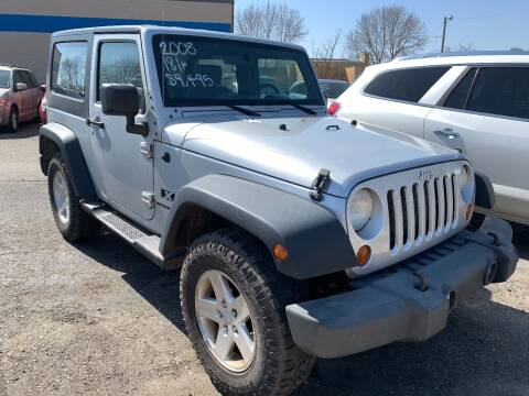 2008 Jeep Wrangler for sale at BEAR CREEK AUTO SALES in Rochester MN