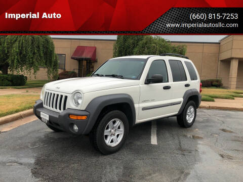 2002 Jeep Liberty for sale at Imperial Auto, LLC in Marshall MO