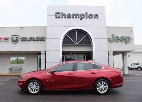2018 Chevrolet Malibu for sale at Champion Chevrolet in Athens AL