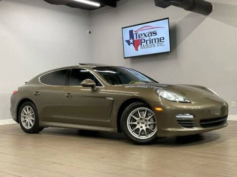 2010 Porsche Panamera for sale at Texas Prime Motors in Houston TX
