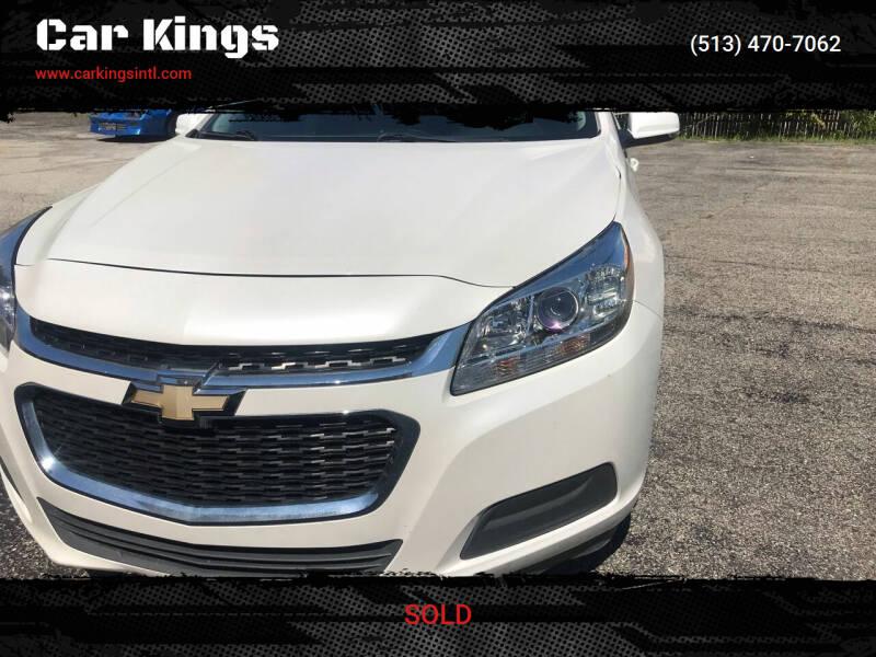 2015 Chevrolet Malibu for sale at Car Kings in Cincinnati OH