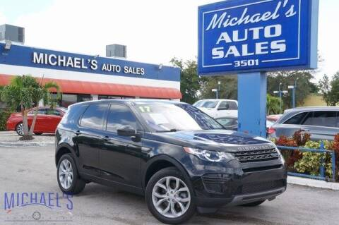 2017 Land Rover Discovery Sport for sale at Michael's Auto Sales Corp in Hollywood FL