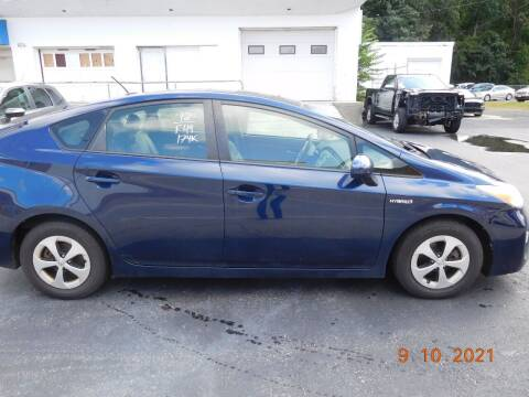 2012 Toyota Prius for sale at Southbridge Street Auto Sales in Worcester MA