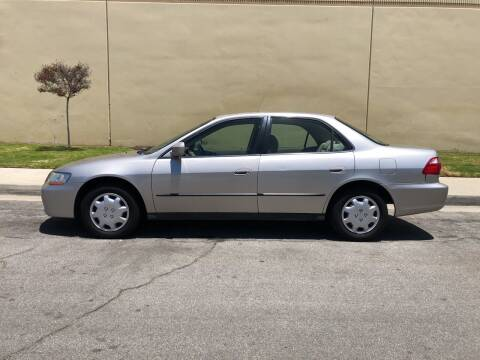 1999 Honda Accord for sale at HIGH-LINE MOTOR SPORTS in Brea CA
