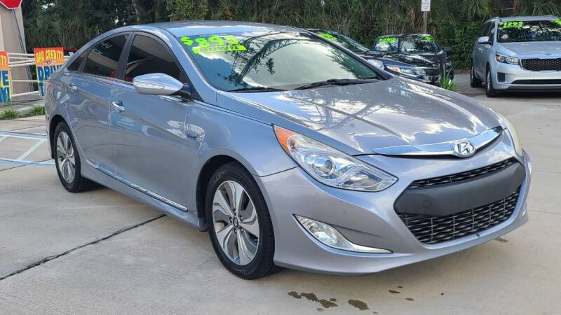 2014 Hyundai Sonata Hybrid for sale at Dunn-Rite Auto Group in Longwood FL