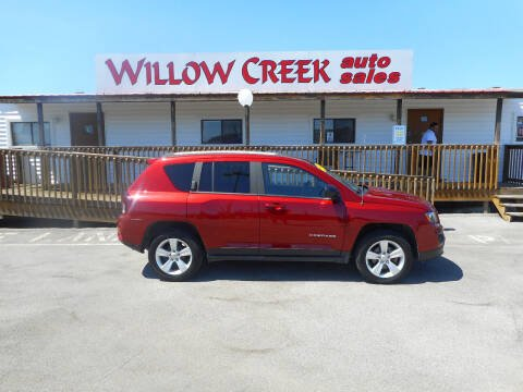 2016 Jeep Compass for sale at Willow Creek Auto Sales in Knoxville TN