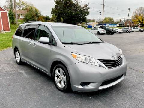 2012 Toyota Sienna for sale at ANZ Auto llc in Fredericksburg VA