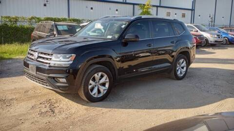 2018 Volkswagen Atlas for sale at BIG STAR HYUNDAI in Houston TX