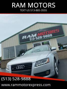 2009 Audi A5 for sale at RAM MOTORS in Cincinnati OH