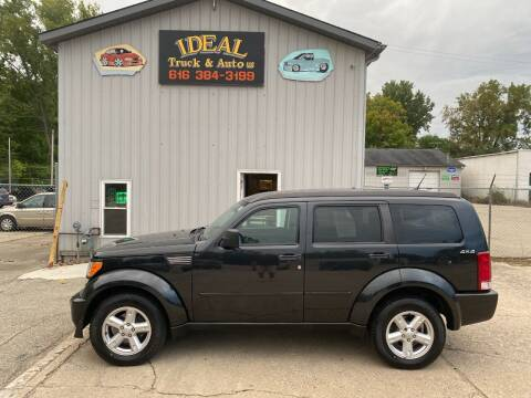 2010 Dodge Nitro for sale at IDEAL TRUCK & AUTO LLC in Coopersville MI