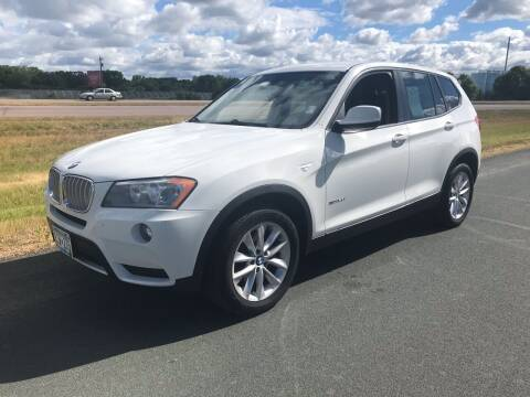 2014 BMW X3 for sale at Whi-Con Auto Brokers in Shakopee MN