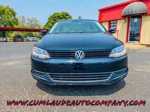 2011 Volkswagen Jetta for sale at MAGNA CUM LAUDE AUTO COMPANY in Lubbock TX