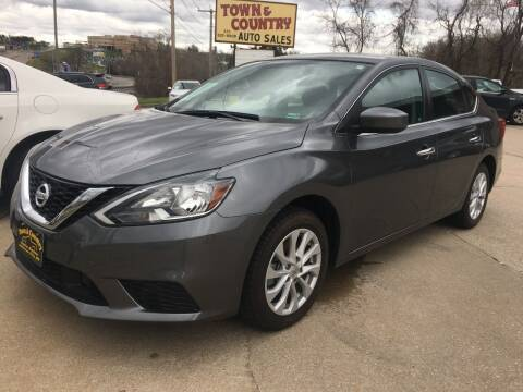 2019 Nissan Sentra for sale at Town and Country Auto Sales in Jefferson City MO