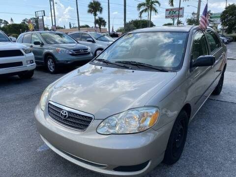 2005 Toyota Corolla for sale at BC Motors in West Palm Beach FL