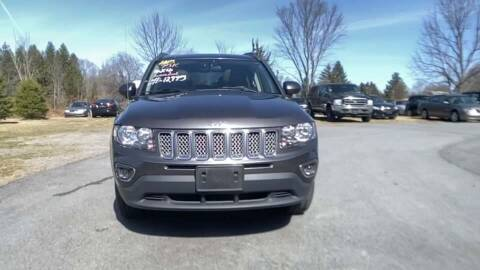 2015 Jeep Compass for sale at Cj king of car loans/JJ's Best Auto Sales in Troy MI