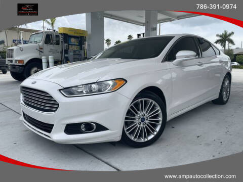 2015 Ford Fusion for sale at Amp Auto Collection in Fort Lauderdale FL