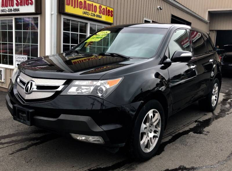2008 Acura MDX for sale at Dijie Auto Sale and Service Co. in Johnston RI