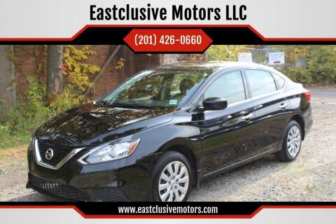 2017 Nissan Sentra for sale at Eastclusive Motors LLC in Hasbrouck Heights NJ