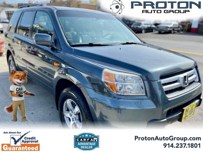 2006 Honda Pilot for sale at Proton Auto Group in Yonkers NY