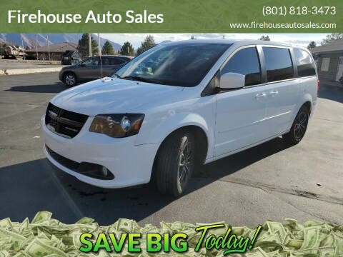 2015 Dodge Grand Caravan for sale at Firehouse Auto Sales in Springville UT