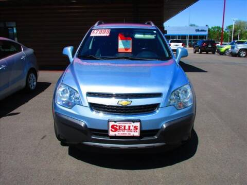 2013 Chevrolet Captiva Sport for sale at Sells Auto INC in Saint Cloud MN