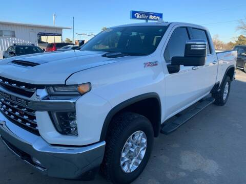 2020 Chevrolet Silverado 2500HD for sale at Keller Motors in Palco KS