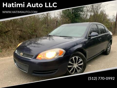 2008 Chevrolet Impala for sale at Hatimi Auto LLC in Buda TX