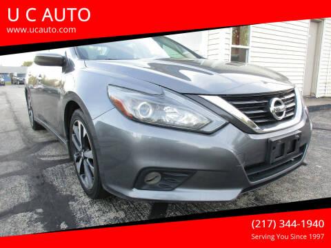 2016 Nissan Altima for sale at U C AUTO in Urbana IL