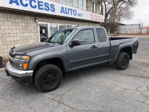 2008 Chevrolet Colorado for sale at Access Auto in Salt Lake City UT